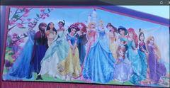 z Disney Princess Pink & Purple 13x13