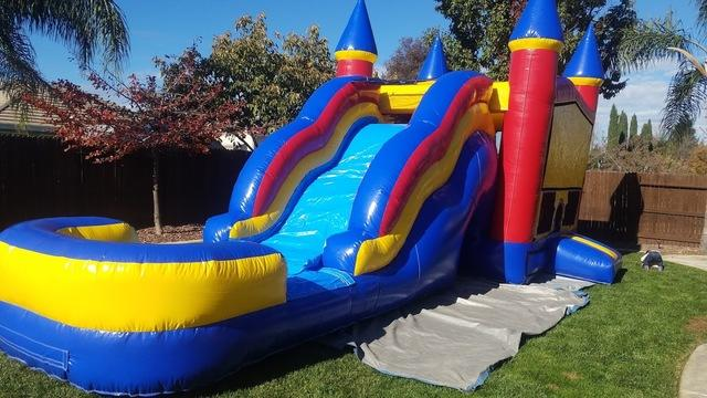 32ft Bounce and Slide dry