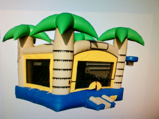 Tropical Bounce House 2