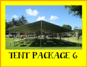 Silver Tent Package 6