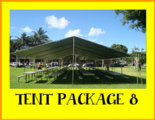 Silver Tent Package 8