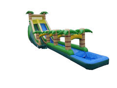24ft Giant Tropical Wet Slide Combo