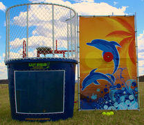 Raise funds with a DUNK TANK