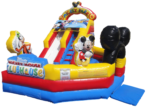 13' Mickey Mouse Jr Water Slide Combo (WET) *