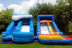 Two Junior Water Slides - Great for preschools!