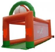 Baseball Inflatable Pitching Game