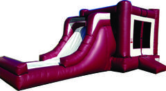 Maroon and White Combo Waterslide