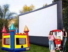 18 Foot Movie Screen Party Package