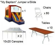 Baptism Party Package