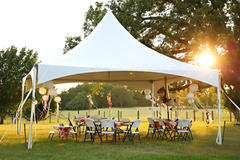 20x20 Tent, 4 Tables, 36 Chairs