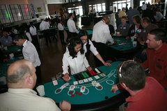Casino Party Tables & Dealers