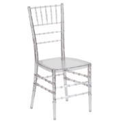 Crystal Chiavari Chairs (Clear)