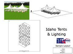 35'x80' Twin Hexagon Tent