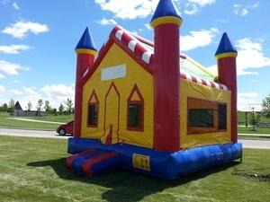15x15 Castle Bounce House