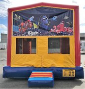 Dory and Nemo Bounce House