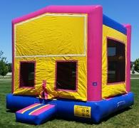 Pink Module Bounce House