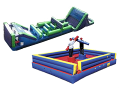 Inflatable Sports & Obstacles