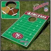 The 49ers Bean Bag Toss
