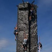 5 Person Rock Climb Wall
