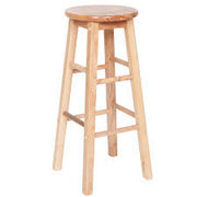 Natural Wood Barstools