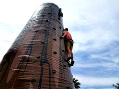 2 Person Inflatable Rock Climb Wall