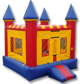 Parks - Multi-Color Castle Bouncer
