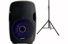 "Bluetooth Party Speaker - 2000W 15"" Subwoofer"