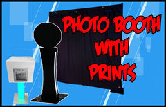 Photo Booth W/ Staffed Print Station  $419 up to 3 Hours! $85 each additional hour