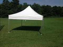 10ft X 10ft White Pop-Up Tent