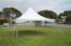 20ft X 20ft White Hi Peak Tent