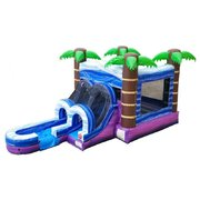 Tropical Bounce and Water Slide Combo