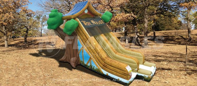 Tree House Slide