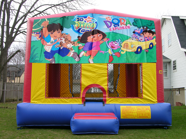 Go Diego Bounce House