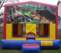Jurassic World Bounce House