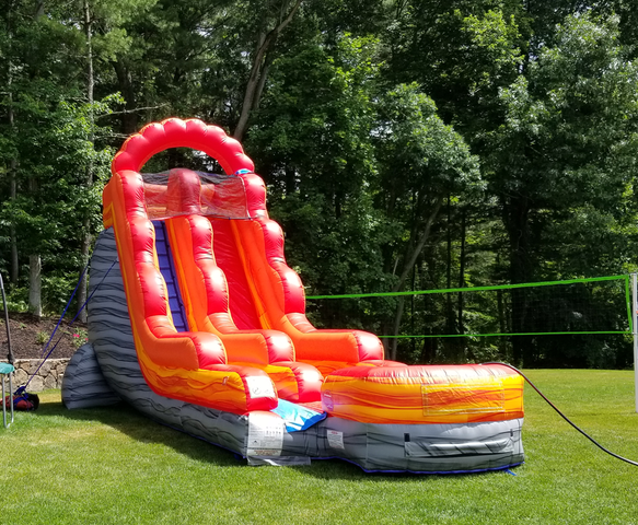 18' Volcano Super Water slide