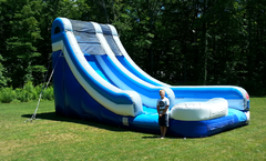 18' Blue & Gray Super Water slide