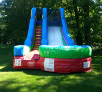 15' Red Blue Green Water slide