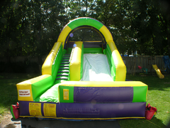 12' Green & Yellow Water Slide
