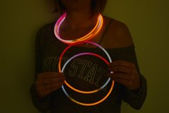 100 Tricolor Glow Necklaces(At Our Facility)