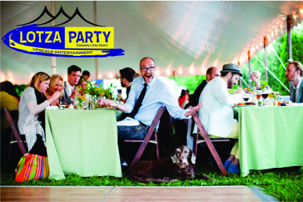 party tent package NJ