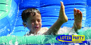water slide rentals by Lotza Party