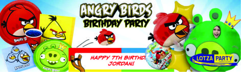Angry Birds party package