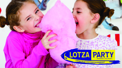 Cotton candy rental by Lotza Party