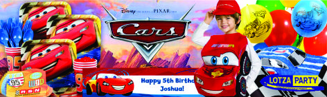 Disneys Cars party package