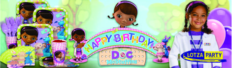Doc Mcstuffins party package