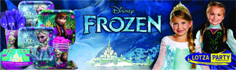 Frozen VIP party package