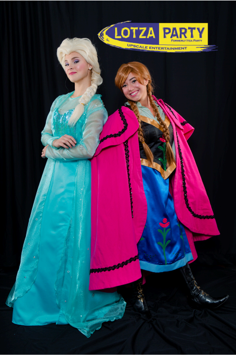 Anna and Elsa Frozen meet and greet