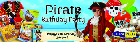 pirate theme party package