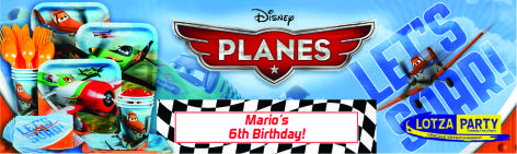 Disneys Planes party package