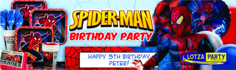 Spider Man Party package